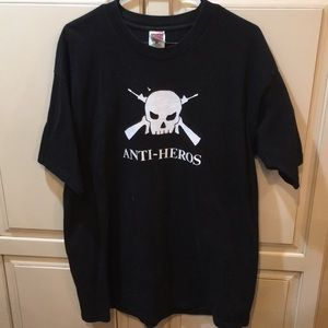 Vintage 90s anti-heros national debt tour shirt